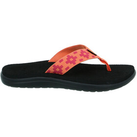 Teva Voya Flips Women maya check flamingo